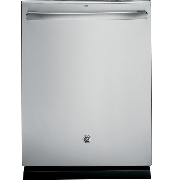 Adora series by GE® Stainless steel interior dishwasher with hidden controls