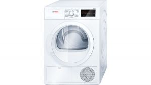 "300 Series 24"" compact condensation dryer, Wtg86400uc, white"