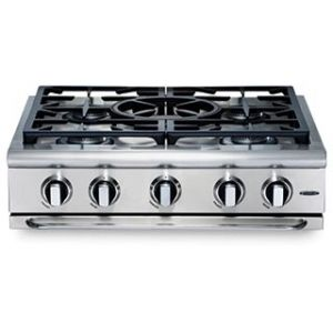 Precision 30″ gas range top