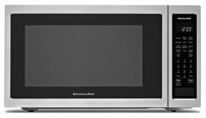 "21 3/4"" countertop convection microwave oven - 1000 watt"