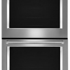 """30"""" double wall oven with Even-Heat™ true convection"""