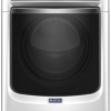Large capacity dryer with refresh cycle with steam and Powerdry system – 7.4 cu. ft..