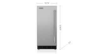 "15"" ice maker - panel ready"