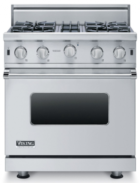 "30"" open burner gas range"